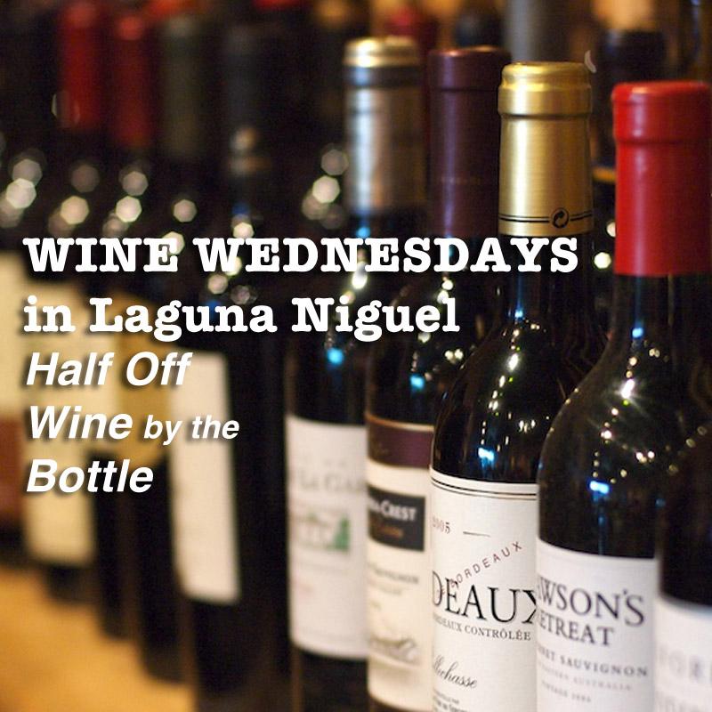 wine Wednesday in Laguna Niguel